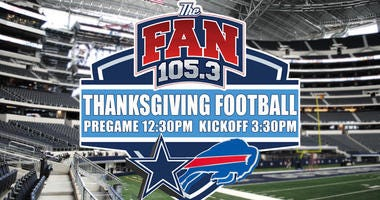 Buffalo Bills vs Dallas Cowboys on 105.3 The Fan