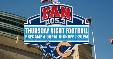 Dallas Cowboys vs Chicago Bears on 105.3 The Fan