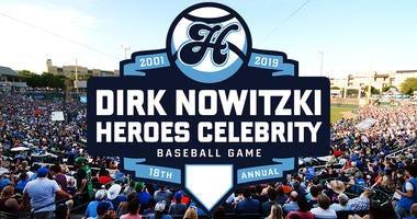 Dirk Nowitzki's 2019 Heroes Celebrity Baseball Game