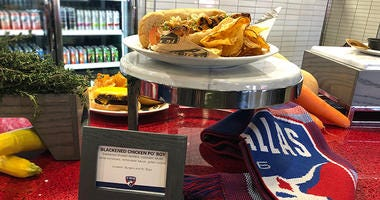 FC Dallas Food