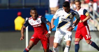 Ziegler, Acosta Score To Lift FC Dallas Over Galaxy 2-0