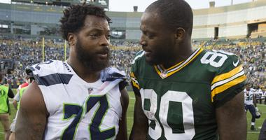 Michael Bennett and his brother Martellus Bennett