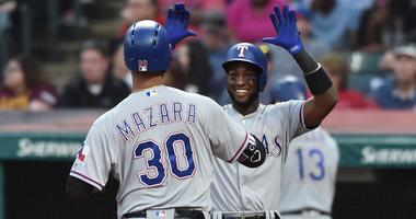 Nomar Mazara and Jurickson Profar