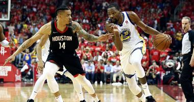 -Golden State Warriors at Houston Rockets
