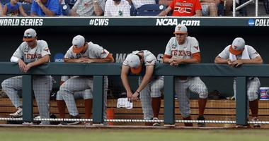 College World Series-Arkansas vs Texas