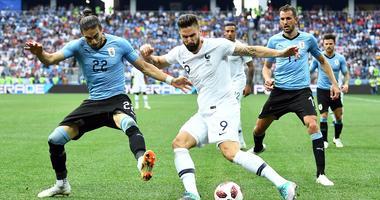 World Cup-Uruguay vs France