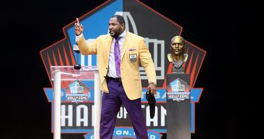 Pro Football Hall of Fame-Enshrinement Ceremony