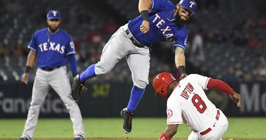 Texas Rangers at Los Angeles Angels