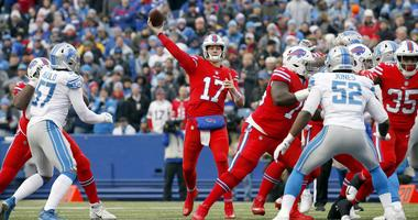 Buffalo Bills quarterback Josh Allen
