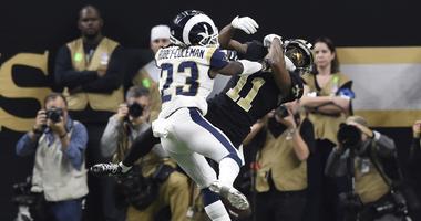 Los Angeles Rams defensive back Nickell Robey-Coleman