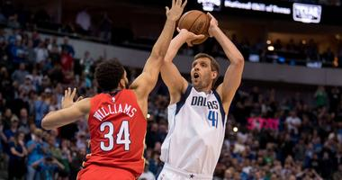 New Orleans Pelicans at Dallas Mavericks