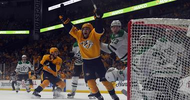 Dallas Stars at Nashville Predators