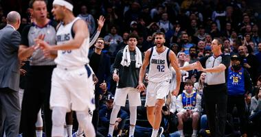 Dallas Mavericks forward Maxi Kleber