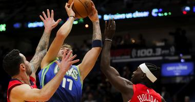 Dallas Mavericks at New Orleans Pelicans