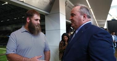 Dallas Cowboys head coach Mike McCarthy