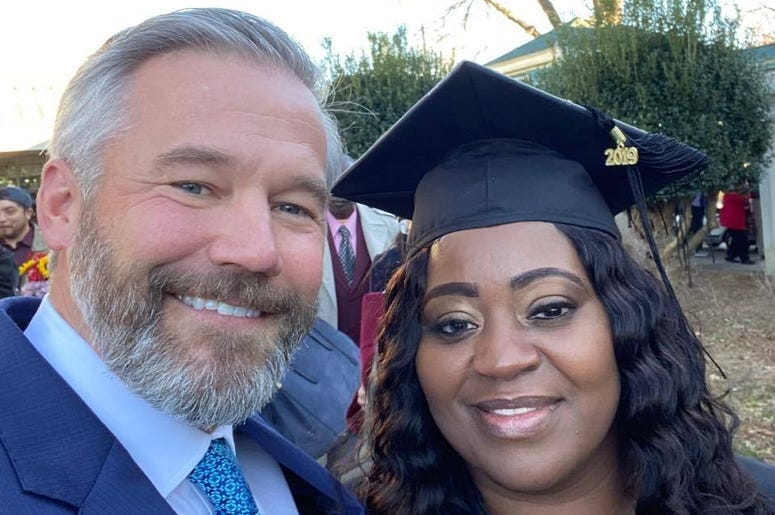 Great News: Meet the Man Who Paid a College Student's Debt