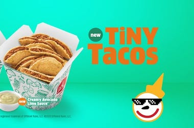The Fast Food Report with Jensen Karp - Jack In The Box Tiny Tacos