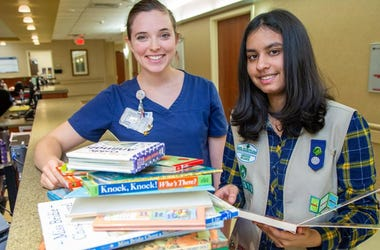 Great News: Meet the 14-year-old girl setting up Mini Libraries for Neonatal Intensive Care Units