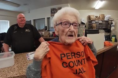Great News: Meet the 100-Year-Old Arrested for Her Bucket List