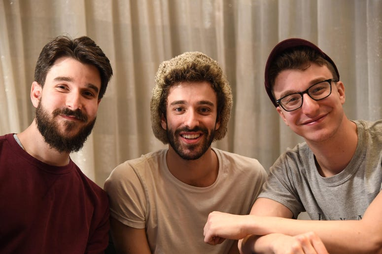 Adam Met, Jack Met, and Ryan Met of AJR