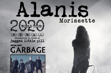 Alanis Morissette Tour with special guest Garbage and Liz Phair