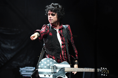 Billie Joe Armstrong of Green Day performs