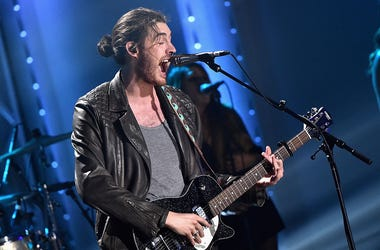 Singer Hozier performs onstage during the VH1 Big Music in 2015: You Oughta Know Concert