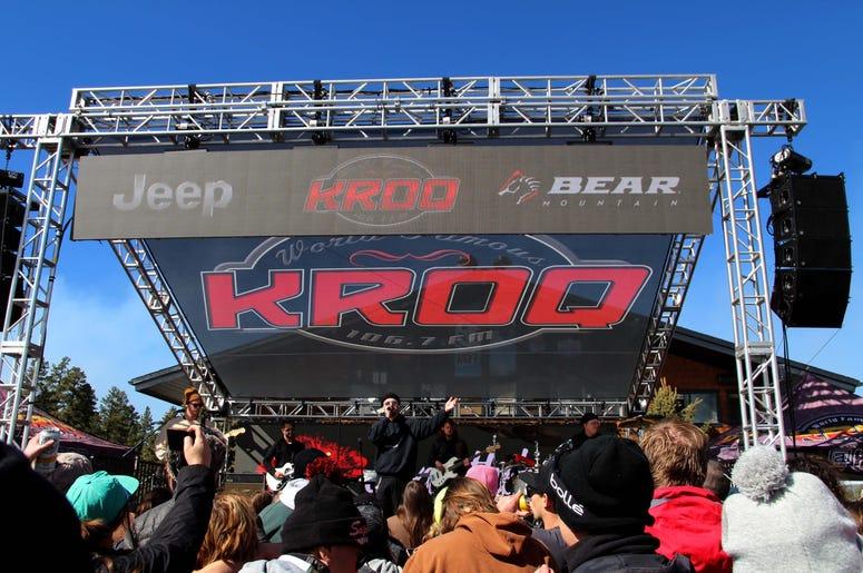 KROQ Storms Bear Mountain