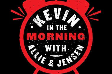 Kevin in the Morning Logo Black