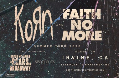 Korn & Faith No More Irvine