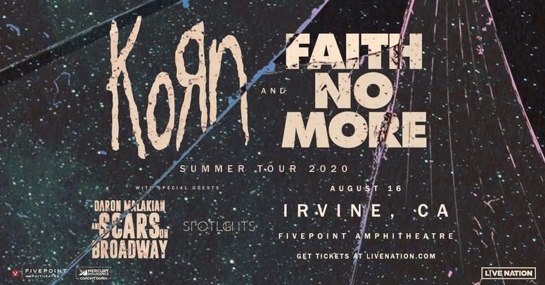 Korn & Faith No More Irvine