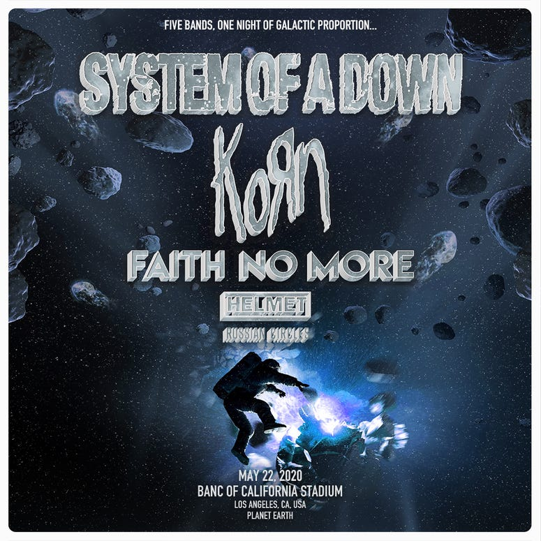 System of a Down May 22