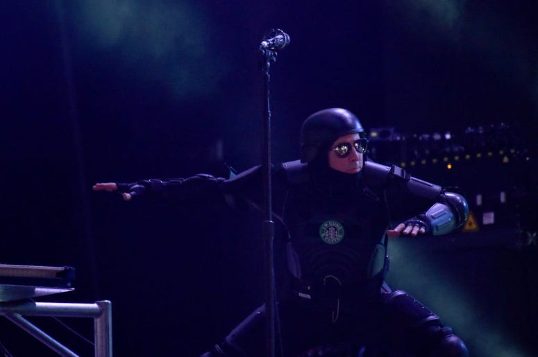 Maynard Keenan of Tool performs onstage during the 2017 Governors Ball Music Festival - Day 3 at Randall's Island on June 4, 2017 in New York City