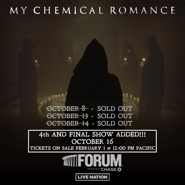 My Chemical Romance 4th and Final LA Show