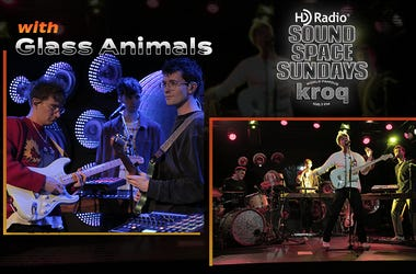 Glass Animals KROQ HD Radio Sound Space Sundays