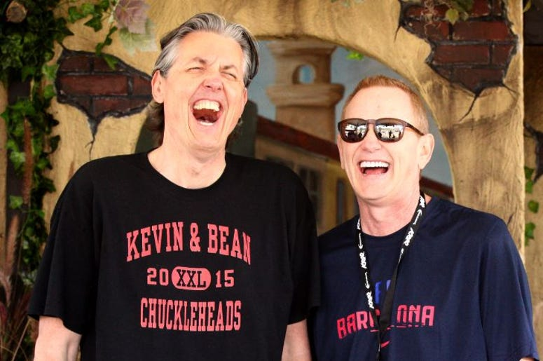kevin and bean