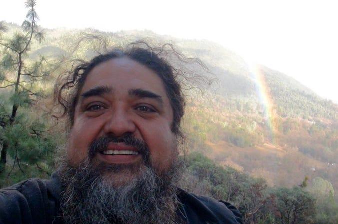 """Paul """"Bear"""" Vasquez, better known as The Double Rainbow Guy"""