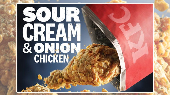 KFC Sour Cream and Onion Chicken