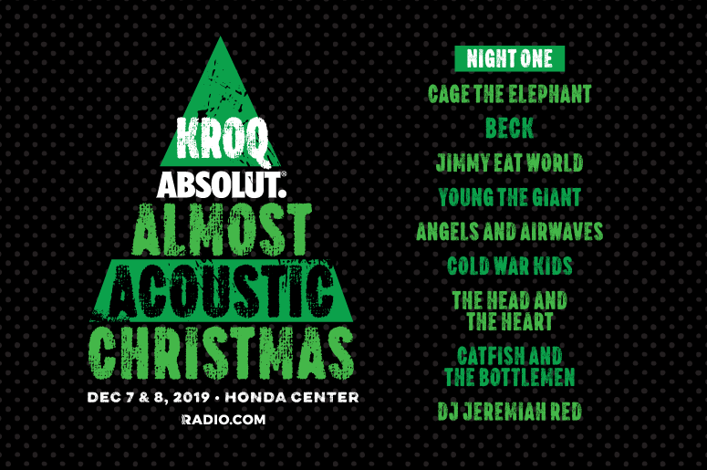 Kroq Acoustic Christmas 2020 KROQ Absolut Almost Acoustic Christmas | The World Famous KROQ