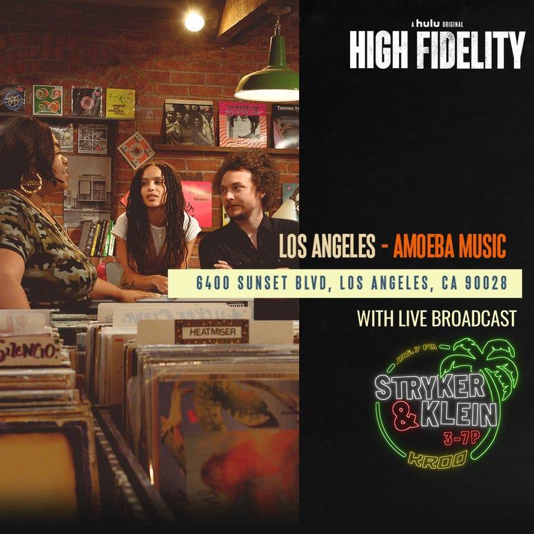 Stryker & Klein live broadcast Amoeba