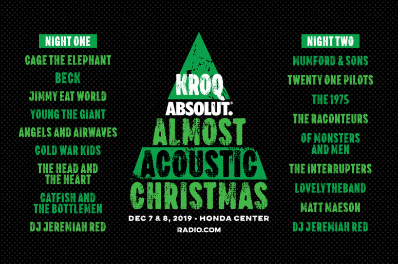 KROQ Almost Acoustic Christmas 2019 Both Nights