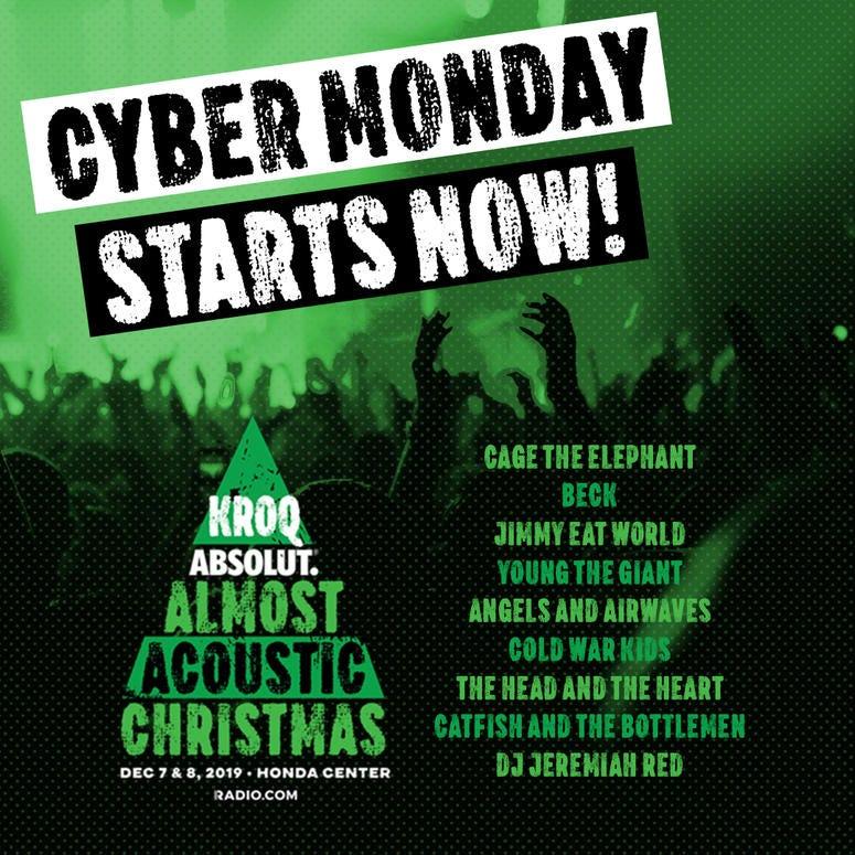 KROQXMAS Cyber Monday Night 1