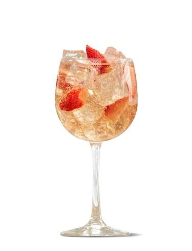 Strawberry Juice Spritz