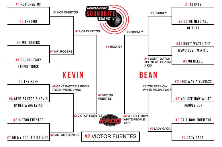 Kevin and Bean Soundbite Bracket | The World Famous KROQ