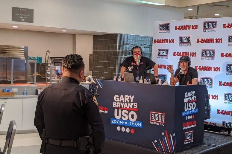 Gary Bryan broadcasting