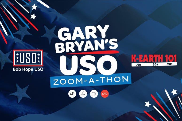 Bob Hope USO Gary Bryan Show