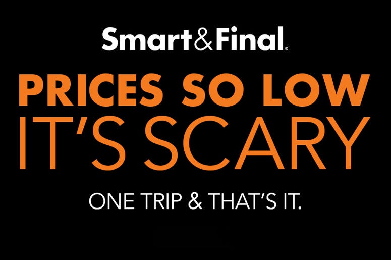 Smart & Final Halloween Sale