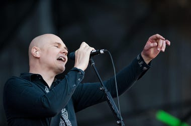 Smashing Pumpkins performs during the Lollapalooza
