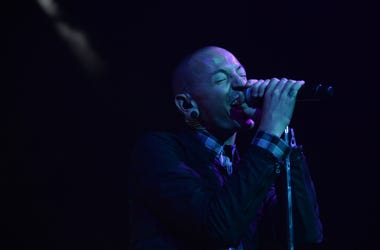 Chester Bennington performs in Fort Lauderdale, Florida