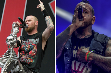 Five Finger Death Punch and Bad Wolves